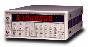 STANFORD RESEARCH SY DS335/1 FUNCTION GENERATOR, DC-3.1 MHZ, OPTION 01 ADDS GPIB/RS-232