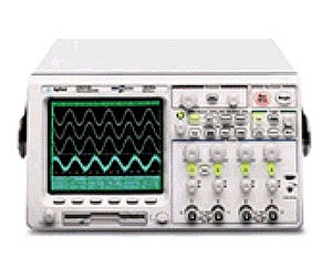 HP/AGILENT 54624A OSCILLOSCOPE, 100 MHZ, 4 CHANNEL, 250 MS/S