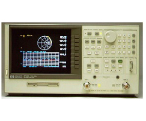 HP/AGILENT 8753D NETWORK ANALYZER, VNA SYSTEM, 30KHZ-3GHZ, COLOR