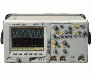 AGILENT MSO6012A OSCILLOSCOPE/LOGIC ANALYZER, 100 MHZ, 2 CH., 16 CH. LA