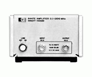HP/AGILENT 8447E AMPLIFIER, 100 KHZ-1.3 GHZ