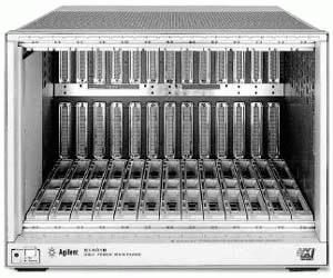 HP/AGILENT E1401B HIGH POWER VXI MAINFRAME, 75000 SERIES C, 13 SLOT