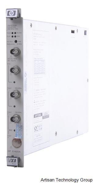 HP/AGILENT E1420A/10 COUNTER, UNIV., 200 MHZ, P/I. OPT.10