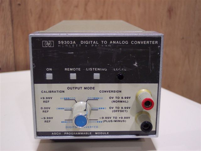 HP/AGILENT 59303A DIGITAL TO ANALOG CONVERTER