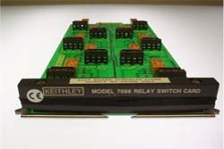 KEITHLEY 7066 SWITCH CARD, RELAY, P/I FOR 7002