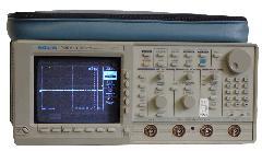 TEKTRONIX TDS620B OSCILLOSCOPE, DIGITIZING, 500 MHZ, 2+2, 2.5GS/S