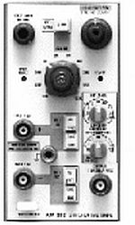 TEKTRONIX AM502 DIFFER. AMP., P/I