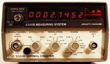 HP/AGILENT 5302A COUNTER, UNIV., 50 MHZ, BOTTOM HALF W/5300A