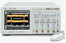 HP/AGILENT 54846A OSCILLOSCOPE, 2.25 GHZ, 4 CHANNELS, 8 GS/S, W 4 PROBES!!