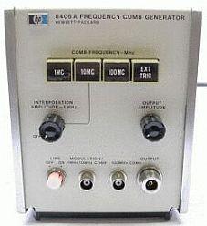 HP/AGILENT 8406A FREQ. COMB. GEN.