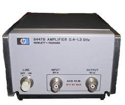 HP/AGILENT 8447B AMPLIFIER, PREAMP, .4-1.3 GHZ, -45 DBM