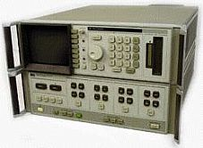 HP/AGILENT 8510A NETWORK ANALYZER,
