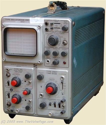TEKTRONIX 564 OSCILLOSCOPE, STRG., M/F