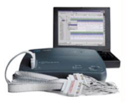 HP/AGILENT E9340A LOGIC ANALYZER, 34 CH, 100 MHZ