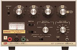 KEITHLEY 227 CURRENT SOURCE, 1UA-1A, 50 WATT, .5%