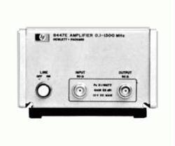 HP/AGILENT 8447E AMPLIFIER, 100 KHZ-1.3 GHZ