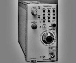TEKTRONIX 7B80 TIME BASE, 400 MHZ,  P/I