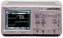 HP/AGILENT 54820A OSCILLOSCOPE, 500 MHZ, 2 CHANNEL, 2 GS/S