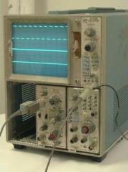 TEKTRONIX 7403N OSCILLOSCOPE, 60 MHZ M/F, 3 SLOTS
