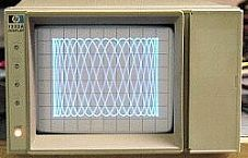 HP/AGILENT 1332A X-Y DISPLAY