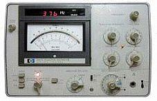 HP/AGILENT 3581C VOLTMETER, SELECTIVE, 15HZ-50KHZ