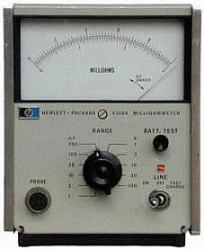 HP/AGILENT 4328A MILLIOHMMETER, 0-1V, 0-3A