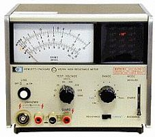 HP/AGILENT 4329A METER, HIGH RESISTANCE