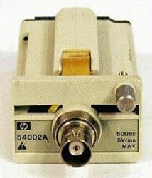 HP/AGILENT 54002A INPUT POD, 50 OHM DC, 5V RMS