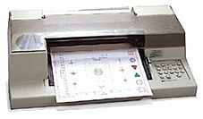 HP/AGILENT 7475A/1 PLOTTER, 6-PEN, OPT. 1, W/RS-232-C/CCITT     V.24