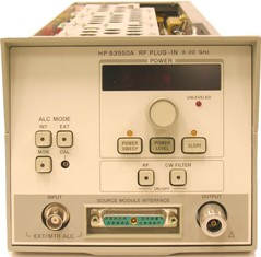 HP/AGILENT 83550A SWEEP GENERATOR, 8-20 GHZ