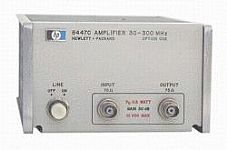 HP/AGILENT 8447C AMPLIFIER, 30-300 MHZ, -15 DBM