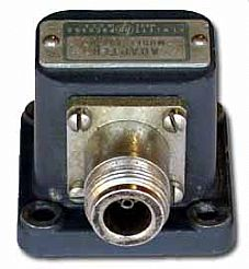 HP/AGILENT X281A ADAPTER, WAVEGUIDE TO COAX, WR90 TO TYPE N