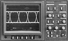TEKTRONIX 1730D WAVEFORM MONITOR, NTSC DIGITAL