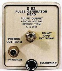 TEKTRONIX S52 PULSE GENERATOR HEAD, 25 PS