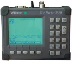 WILTRON 330 SITE MASTER, TRANSMISSION LINE TESTER, 700-3300 MHZ