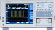 YOKOGAWA AQ6370 OPTICAL SPECTRUM ANALYZER, 600-1700NM,-90 TO+20DBM