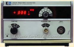 HP/AGILENT 3403A VOLTMETER, TRUE RMS, DC-10 MHZ, 10 MV-100V